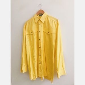 FINAL FLASH- 80s Versace Oversized Shirt